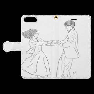 aoiの博士と彼女のセオリー より Book-style smartphone caseを開いた場合(外側)
