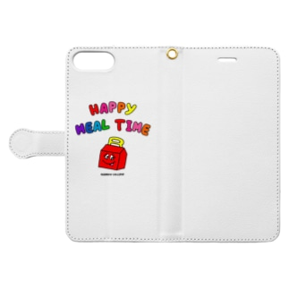 HAPPY MEAL TIME Book-style smartphone case
