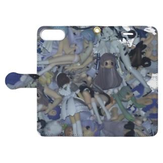 吸収 _long torso Book-style smartphone case