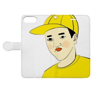 つうこうにん Book-style smartphone case