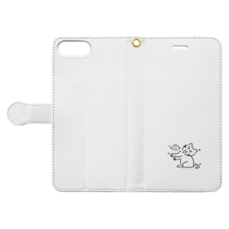 にゃんや~ん Book-style smartphone case