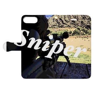 Sniper Book-style smartphone case