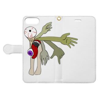 「愉快」 Book-style smartphone case