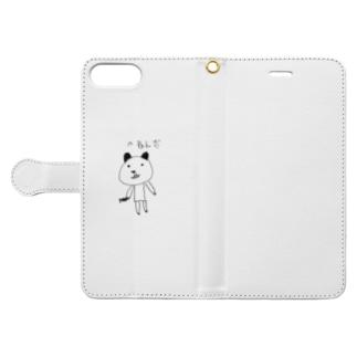 パあんだ Book-style smartphone case