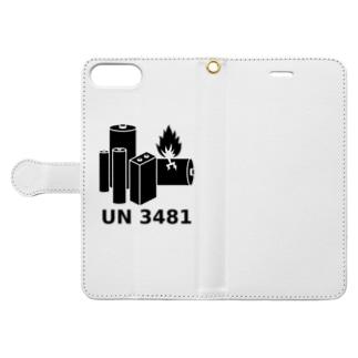 UN3481 Book-style smartphone case