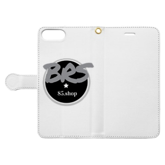 BRS85. (Gray) Book-style smartphone case