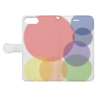 虹色たまたま Book-Style Smartphone Case
