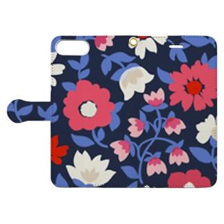 花*花 Book-style smartphone case
