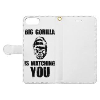 BIG GORILLA IS WATCHING YOU Book-style smartphone case