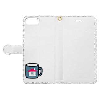 家マグ Book-style smartphone case