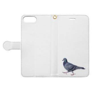 行方不明のドバト Book-style smartphone case