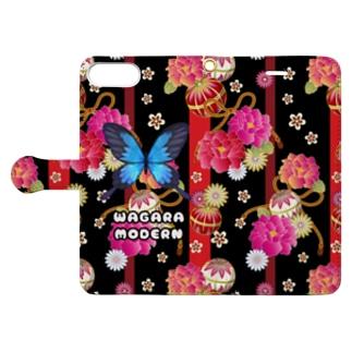 WAGARA MODERN Book-style smartphone case
