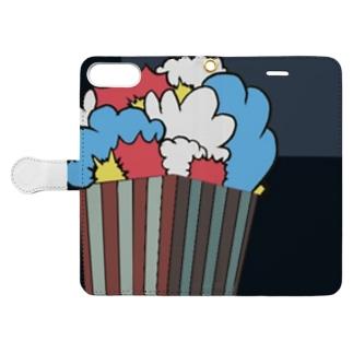 絶対的刺激カバー  Book-style smartphone case