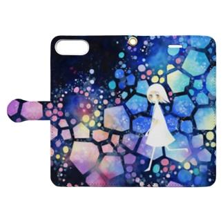 いろどりのなか Book-style smartphone case