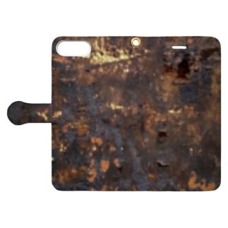 焦げ Book-style smartphone case
