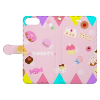 ❤️sweets❤️ Book-style smartphone case
