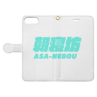朝寝坊 Book-style smartphone case