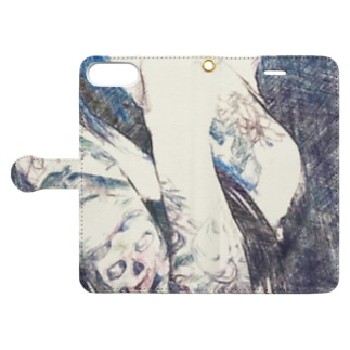 BLUE CALL GIRL Book-style smartphone case