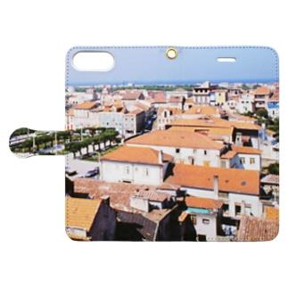 ポルトガル:ヴィラ・ド・コンデの風景写真 Portugal: Vila do Conde Book-style smartphone case