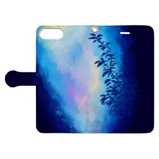 かすめる Book-style smartphone case