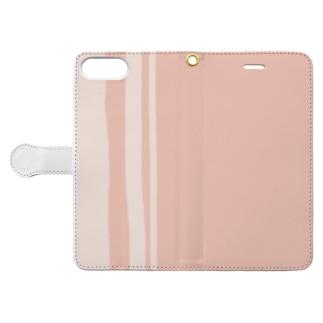 カラーセラピーライン「coral」 Book-style smartphone case