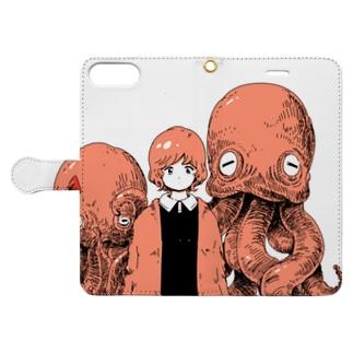 記念写真 Book-style smartphone case
