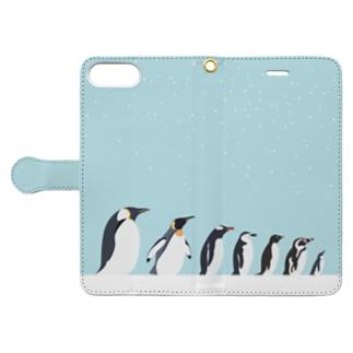 ペンギンタクサン Book-style smartphone case