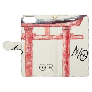 通リャンセ Book-style smartphone case
