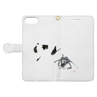 海 =sea= Book-style smartphone case
