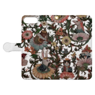 floral alchemy Book-style smartphone case