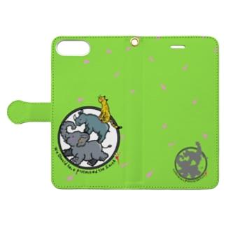 地球を守ろう♡ Book-style smartphone case