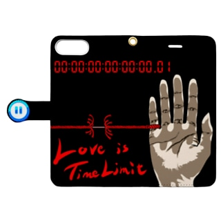 Love is Time Limit Book-style smartphone case