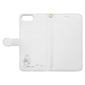 宇宙飛行士 Book-style smartphone case