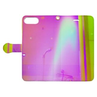 緑桃 Book-style smartphone case