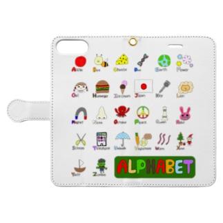 alphabet Book-style smartphone case