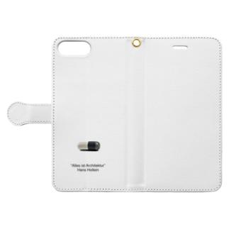 [建築名言①]全ては建築である Book-style smartphone case