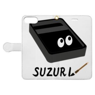 スズリくん Book-style smartphone case