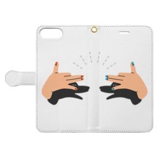 こっそりナイショの話をしよう。 Book-style smartphone case