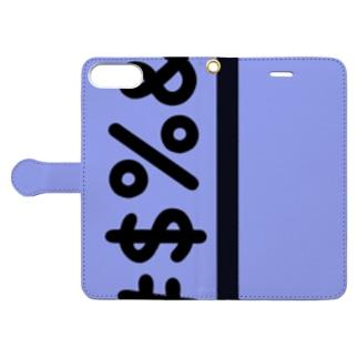 文字シリーズ(記号) Book-Style Smartphone Case