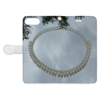 pearlⅩⅣ Book-style smartphone case