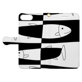 不死身の魚たち Book-style smartphone case