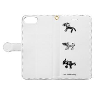 the kaffadog(logoあり) Book-style smartphone case