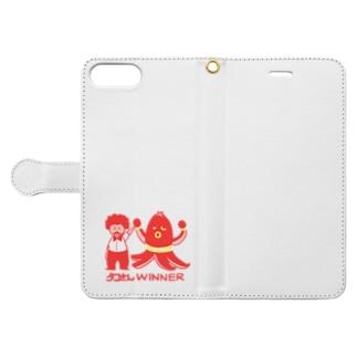 【ドラマ あのキス】タコさんWINNER【ご着用】 Book-Style Smartphone Case