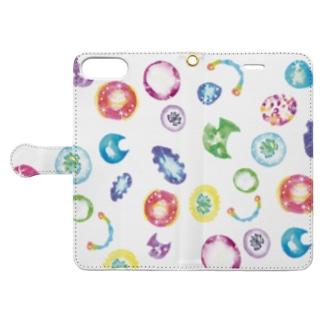 宇宙の宝石 Book-style smartphone case