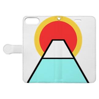 御来光 Book-style smartphone case