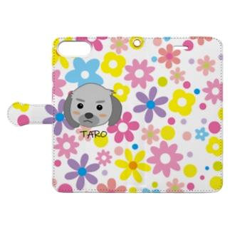 タロちゃん2 Book-style smartphone case