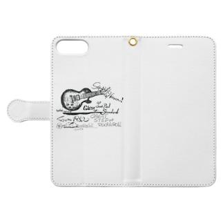 ギブソンレスポール Book-style smartphone case