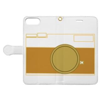 カメラ Book-style smartphone case