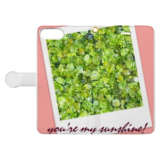 you're my sunshine! Book-style smartphone case