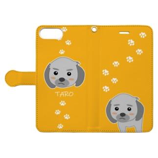 タロちゃん4 Book-style smartphone case
